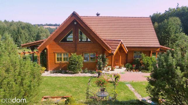 Wyjątkowa działka z domem nad jeziorem Brzeźno Szl