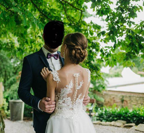 Suknia ślubna BRENDA ivory rozm.34/36