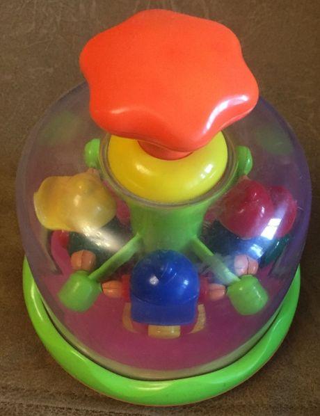 Детская игрушка Волчок / ЮЛА / возраст – от 1 до 3 лет / отличное