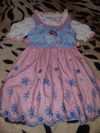 Платье на девочку 3-4лет. 104см.