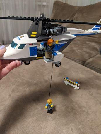 Полицейский вертолет lego 60138 стремительная погоня