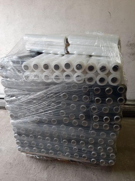 Folia Stretch Strecz Czarna Pakiet 2,7kg jak 3kg X 10szt FV WYSYŁ. 24h
