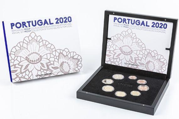 Portugal SÉRIE ANUAL 2020 PROOF Esgotada INCM