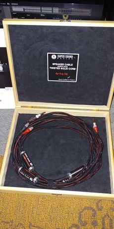 Przewód Głośnikowy 2x3m. Super Sound Device.
