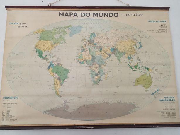 Mapa antigo Porto Editora