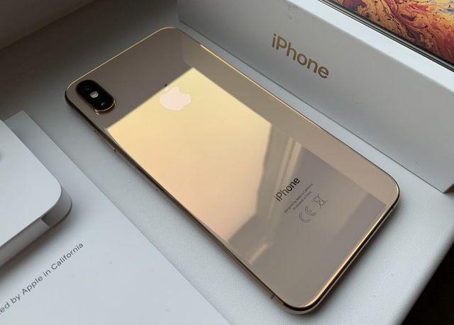 Apple iPhone XS Max , 64Gb Gold - как новый