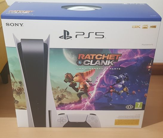 Consola PS5 Standart SELADA + Jogo Ratched & Clank