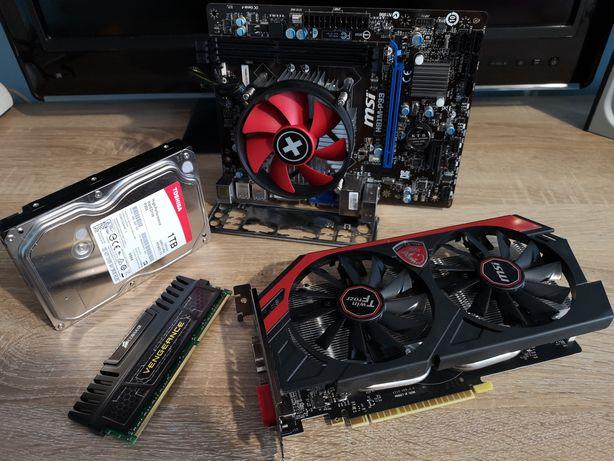 Komputer gamingowy Core i7-4790, GTX 750Ti OC, 1TB, obudowa ZALMAN R1