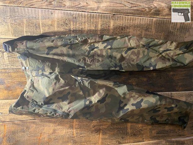 WOJSKOWE Spodnie Wodoodporne GORE-TEX wzór 128/MON wz10