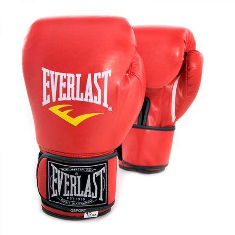 Перчатки боксерские для бокса/груши 8/10/12oz/унций Everlast/Еверласт