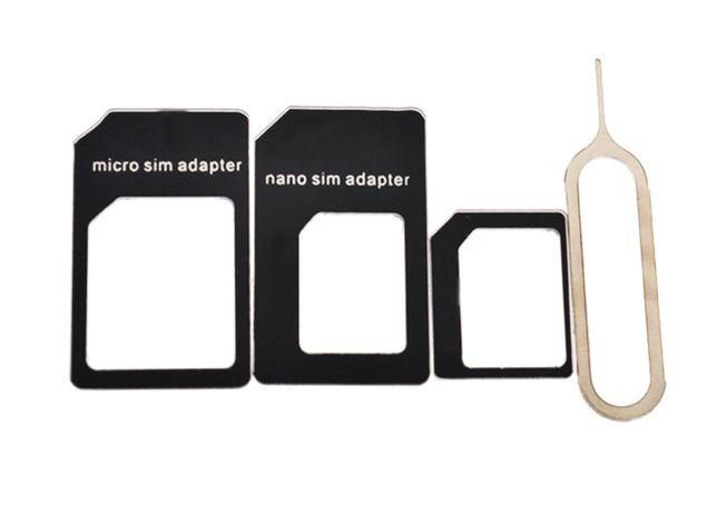 ADAPTADOR - Cartoes SIM / Nano SIM / Micro SIM - NOVO