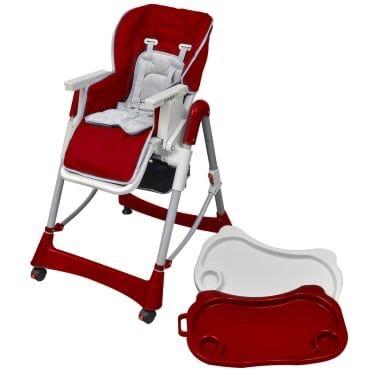 Krzesełko do karmienia stolik dla dzieci regulacja wysokości