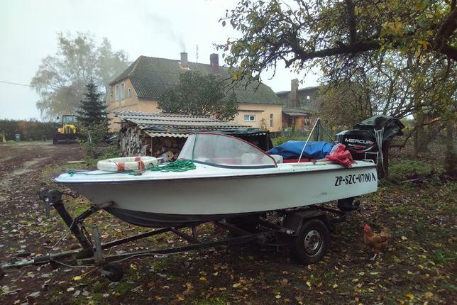 Łódka motorowa, motorówka, łódź wędkarska