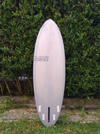 Prancha de surf 5'10  single, twin ou quad fin 32,7 litros