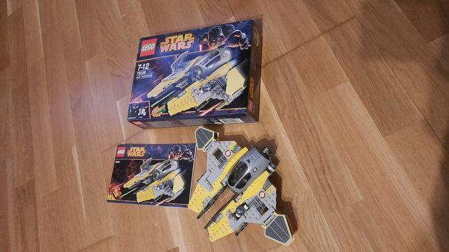 Конструктор LEGO. Перехватчик джедаев— Star Wars2014года (75038).