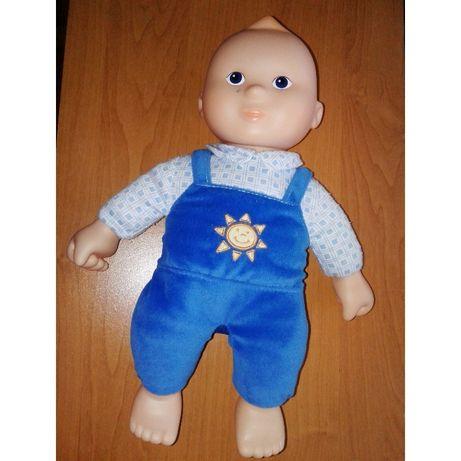 Кукла мальчик 33 см пупс без волос для малышей + подарок