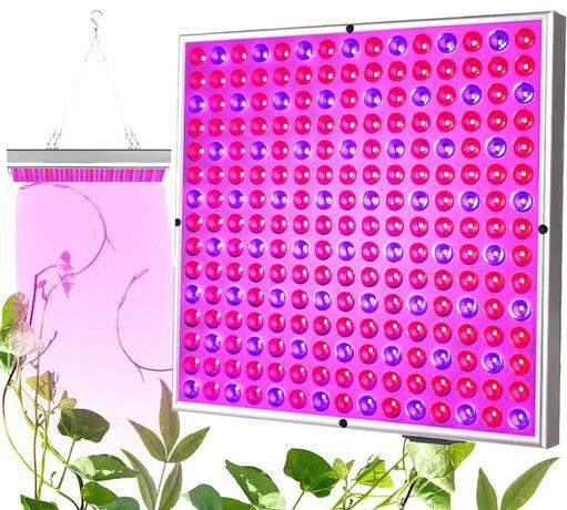 Lampa Panel do Wzrostu Uprawy Roślin 225 LED + LINKI