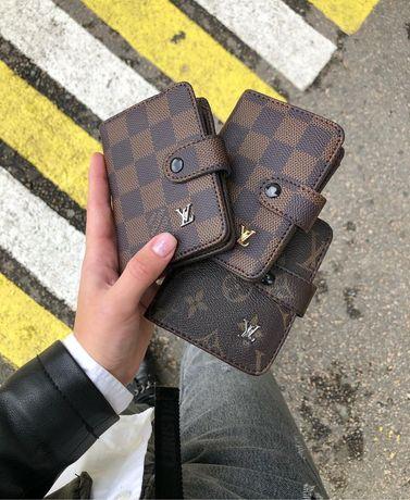 Кошелек мужской клатч  портмоне бумажник визитница женский кошелек