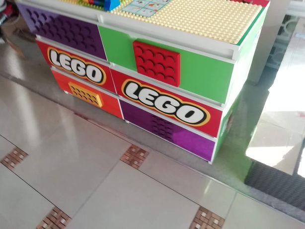 Komoda, dla dziecka na klocki Lego, Lego duplo