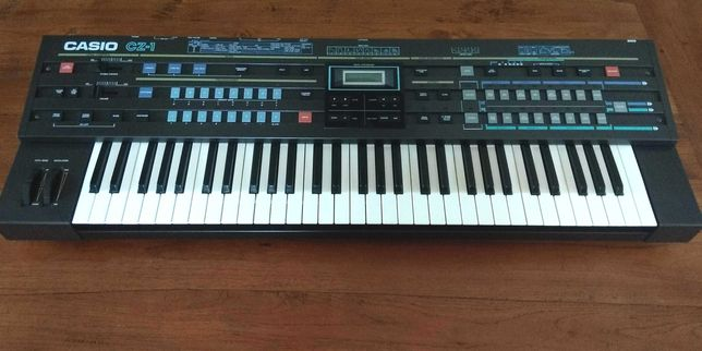 Casio cz-1 sintetizador anos 80.