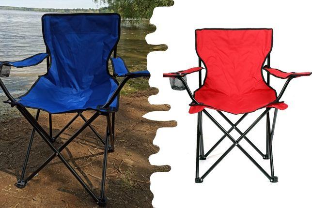 Кресло складное для пикника рыбалки стул в чехле Паук с подстаканником