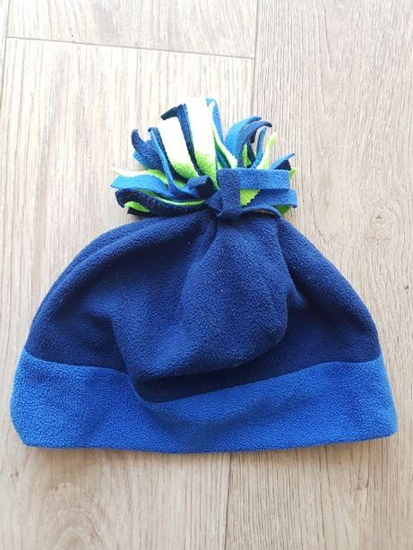 Бесплатная доставка. Детская шапка флисовая . размер 54 см