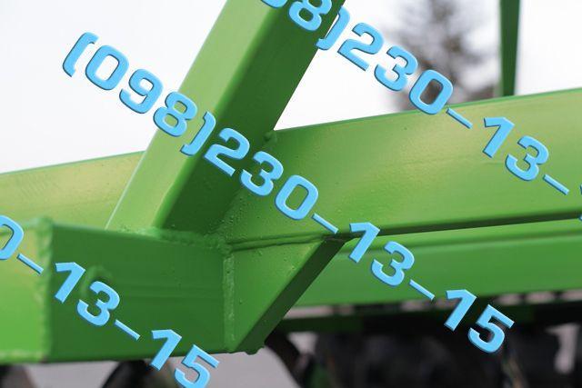 Борона дисковая навесная 1,3 - 3,15 БДН лущильник Опрыскиватель Плуг