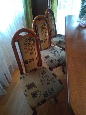 Krzesła. Bydgoska Fabryka mebli. 8 sztuk. Stan idealny.