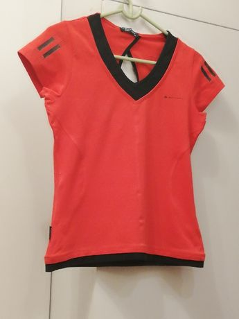 Koszulka sportowa Extory Sport czerwona dopasowana rozm. L (38)