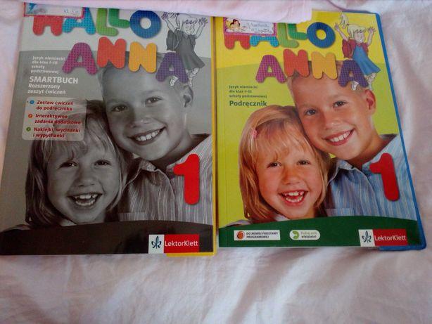 NOWY Hallo Anna 1 podręcznik  szkoła podstawowa