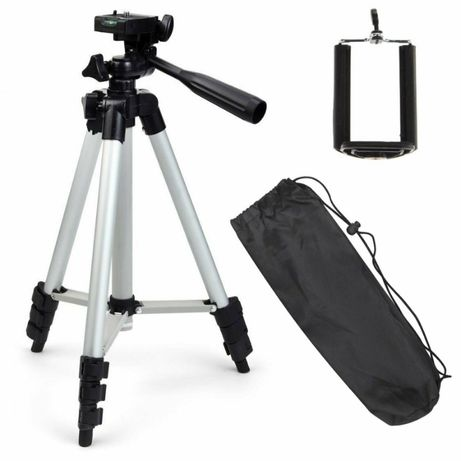 Штатив, трипод, тринога для телефона та фотоапарата+чехол+пульт