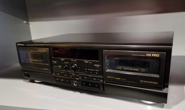 Magnetofon Dual Deck Technics RS-TR474 TAPE Kaseciak '' Vintage ''