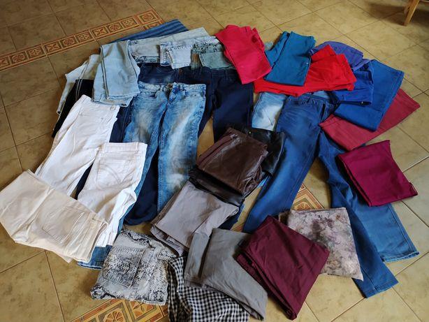Zestaw,paka ,spodnie. 32 pary spodni r. 36-38, Cena z wysyłką