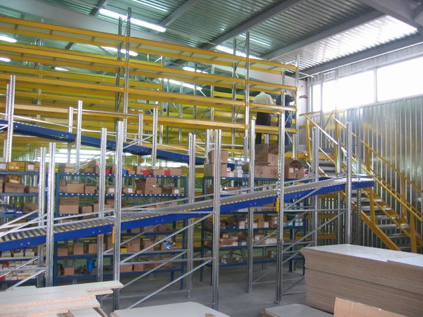 Проектирование складского помещения, стеллаж для склада, монтаж