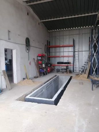 Kanał samochodowy betonowy na stację diagnostyczną SZCZELNY 100% Opole