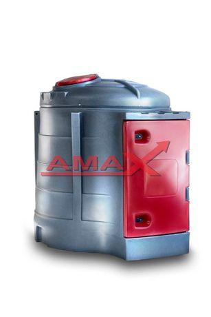 Zbiornik 2500l na ON - dwupłaszcz z dystrybutorem - ON - ATESTY - AMAX