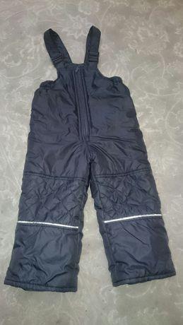 Зимові штани-комбінезон