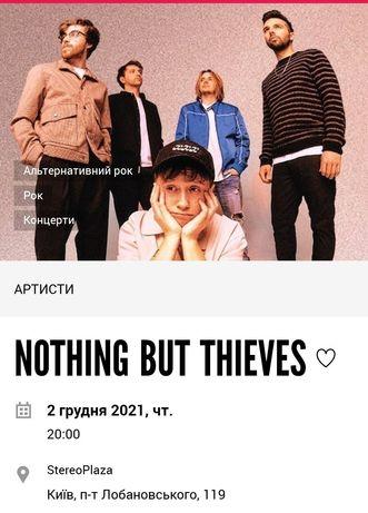 2 Квитки на NOTHING BUT THIEVES 2 грудня в Києві.