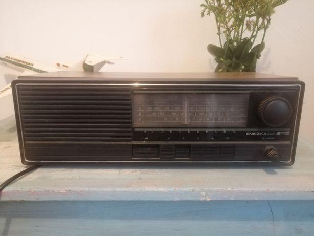 Unitra śnieżka radio prl