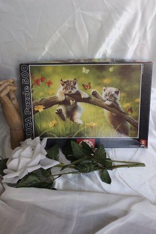 Puzzel de gatinhos de 500 Peças