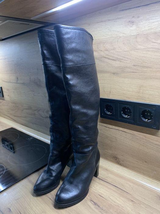 Самоги зимние кожанные 35 размер Vero Cuoio бренд Киев - изображение 1