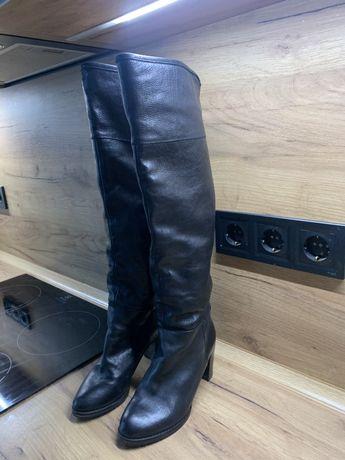 Самоги зимние кожанные 35 размер Vero Cuoio бренд