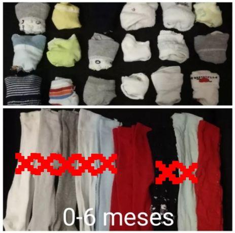 Meias calças e meias bebé