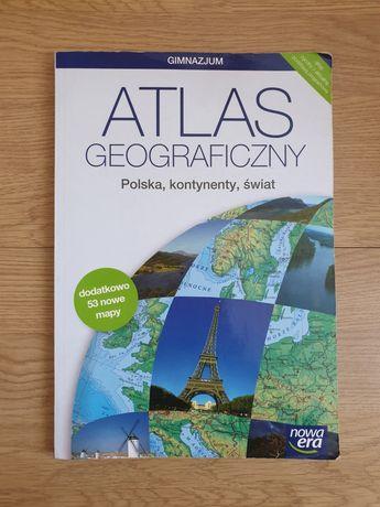 Atlas geograficzny Polska, Kontynenty, Świat. Nowa Era