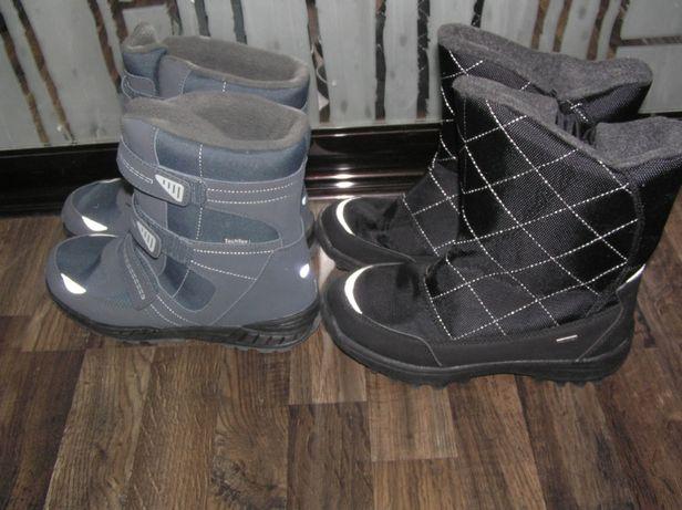 Ботинки зимние термоботинки Techtex Германия для мальчика девочки