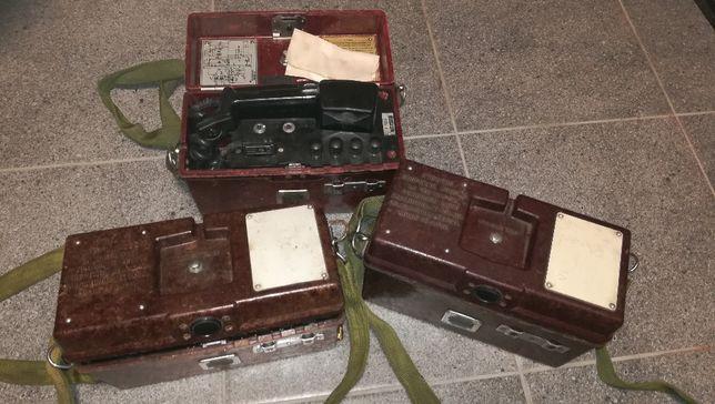 Telefon polowy wojskowy F-1603 radiostacja CCCP PRL sprawne