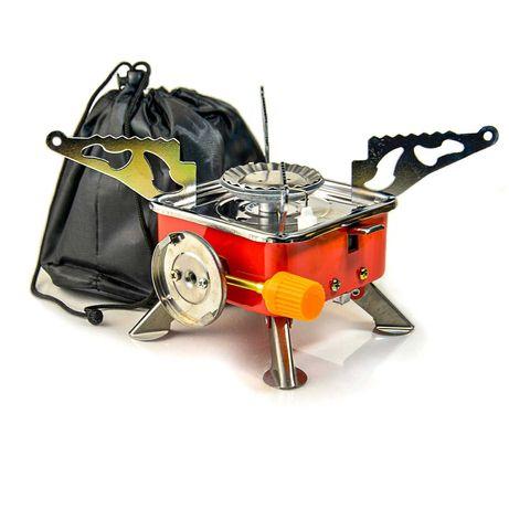Портативная газовая горелка Kovar K-202 пьезо примус, газовая плитка