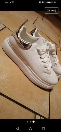 Buty białe damskie