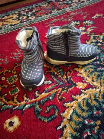 Зимние ботиночки на мальчика, 23 размер
