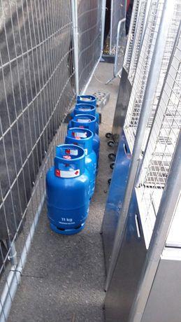 Butla gazowa 11kg propan butan pusta
